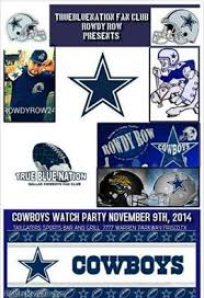 dallas cowboys fan club dallas cowboys watch party nov 9th truebluenationblog com