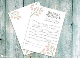 printable bridal shower invitations coprinted 30 free bridal shower printables