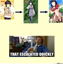 Hinata Memes - hinata grew so much by shadowblasttuga meme center