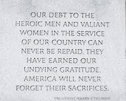 Quote from the wall on the WWII Memorial Picture of National