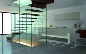 glass stairs and glass staircase sillerstairs