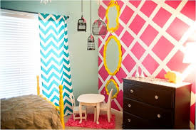 A Bright Bedroom Design For Your Teenage Girl Kidsomania - Bright bedroom designs
