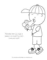 germs coloring page free download
