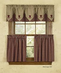 Country Style Curtains And Valances Cortina Estilo Country Ideal Para La Cocina Cortinas