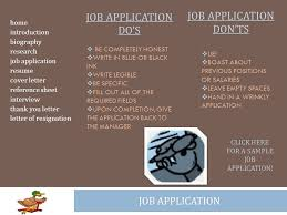 Sample Job Application Resume Home Introduction Biography Research Job Application Resume Cover
