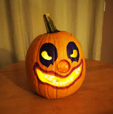 haunted eve u0027s halloween blog clown jack o u0027 lantern