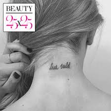 the best small tattoos you u0027ll want to copy from celebrities glamour