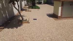 Pea Gravel And Epoxy Patio by Home Design Decorating Oliviasz Com Part 82