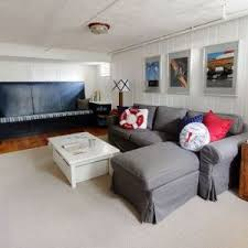 boston painting paneling ideas basement beach style with boat