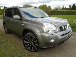 used grey nissan x trail for sale essex