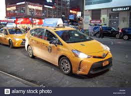 toyota cars usa toyota prius hybrid taxi taxis car cars in stockholm sweden stock