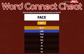 words with friends cheat table cheats and answers for word connect every level including extra