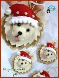 sheltie ornaments felt ornaments