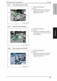 konica minolta bizhub c350 c352 field service service manual