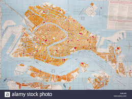 Map Of Venice Venezia Map Stock Photos U0026 Venezia Map Stock Images Alamy