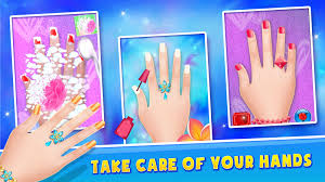 princess nail salon makeover android apps on google play