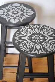 painted bar stool ideas kitchen bar stool ideas homemade bar