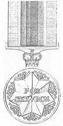 odm of australia australian service medal