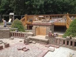 How To Make A Fire Pit With Bricks - outdoor fire pits fireplaces and grills