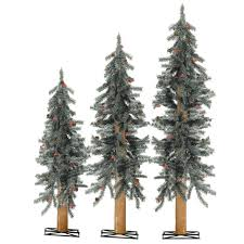 decoration ideas choosing artificial christmas tree white frosted