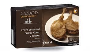 comment cuisiner des cuisses de canard 2 cuisses de canard du sud ouest confites surgelés les viandes