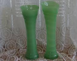 Jade Vases Fenton Jade Etsy