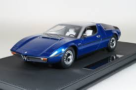 maserati v10 top marques collectibles maserati bora 1 18 blue top25b