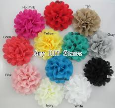 flowers for headbands new 4 lace eyelet flowers hair accessories eyelet fabric