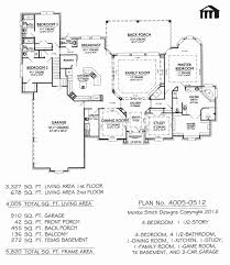 one story house plans with 4 bedrooms 1 2 story house plans awesome wonderfull design 4 bedroom bath
