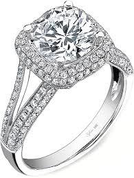 split band engagement rings sylvie split shank engagement ring sy094