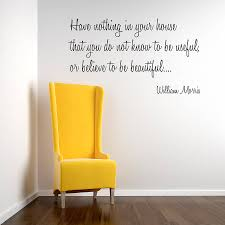 william morris wall sticker quote by spin collective william morris wall sticker quote