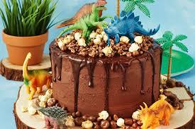 dinosaur cakes choc rocks dinosaur cake