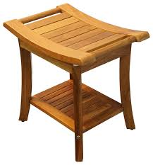 Teak Benches For Bathrooms Shower Benches And Seats Houzz