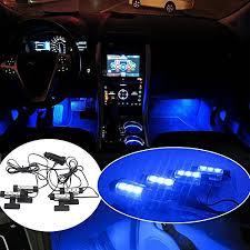 Led Light For Car Interior Thunder 12v 4 3 Led Car Interior Decorative Atmosphere Neon Light