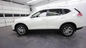 Nissan Rogue White - 2015 nissan rogue sl glacier white fc837499 seattle burien