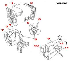 xpelair wh30 commercial wall mounted fan heater 3kw steel fan