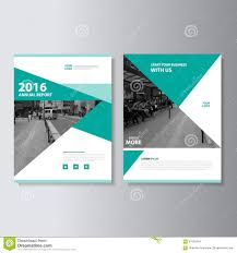 cover layout com green vector magazine annual report leaflet brochure flyer template