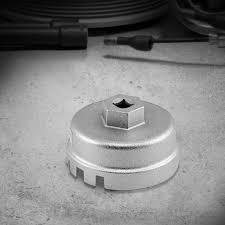 lexus v8 oil filter aluminum oil filter cup wrench tool 64 5mm 14 flute fits toyota lexus