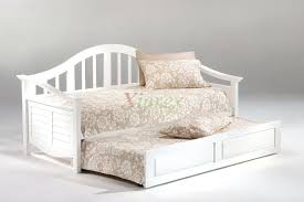 Daybed With Mattress Included Platform Daybed With Trundle Flekke 2 Drawers Mattresses Black