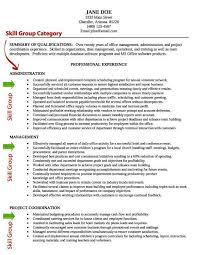 awesome collection of skills and abilities for resume sample about
