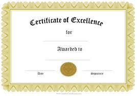 blank certificate blank certificate of completion vector blank
