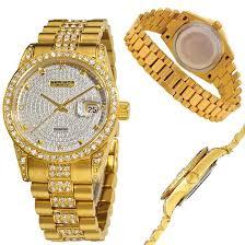 men gold tone bracelet images Akribos xxiv men 39 s and women 39 s watches jpg