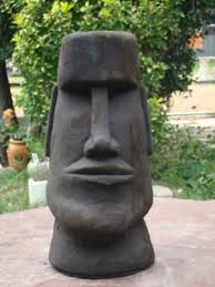 american modern rapa nui easter island concrete cement