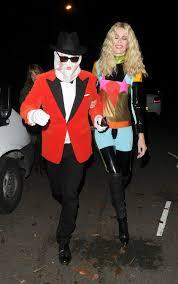 ross halloween costume claudia schiffer at jonathan ross halloween party 10 31 2016