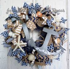 baby boy door wreath burlap wreath mesh wreath