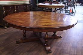 large round wood dining room table extra large round dining room tables dining room tables ideas