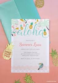 informal invitation birthday party best 25 luau party invitations ideas on pinterest hawaiian