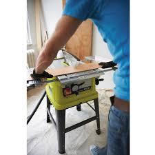 Ryobi 10 Inch Portable Table Saw Refurbished Ryobi Table Saw Home Table Decoration
