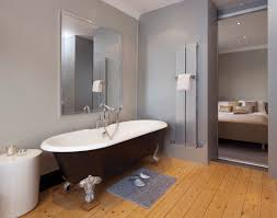 in home or apartment bathroom interior design with elegant style