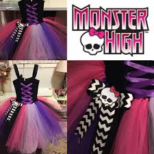 Halloween Costume Monster High by Monster High Tutu Dress By Windmillsandbubbles On Etsy Costume